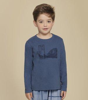 Pijama Manga Longa Infantil - 66284