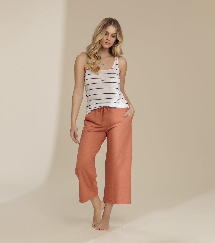 Pijama Regata com Calça Patantacourt - 11010