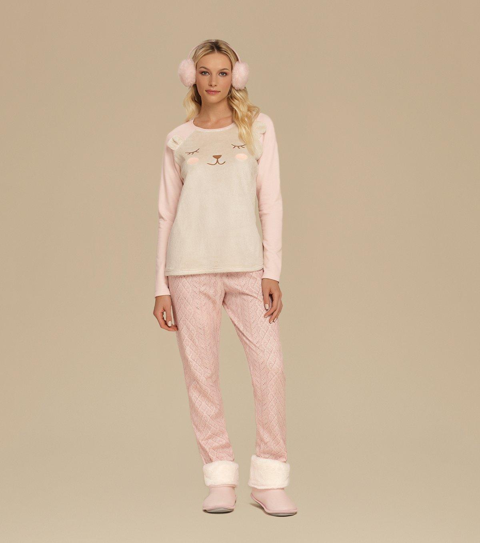 Pijama Manga Longa - 10542