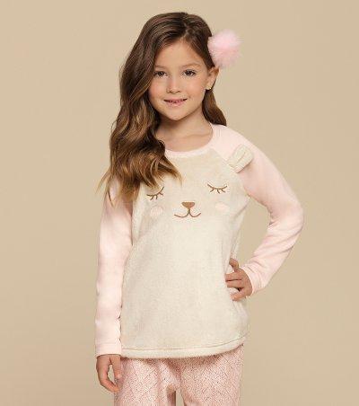Pijama Manga Longa Infantil - 67330