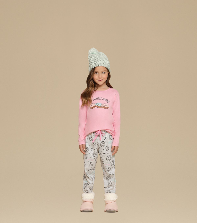 Pijama Manga Longa - 67354