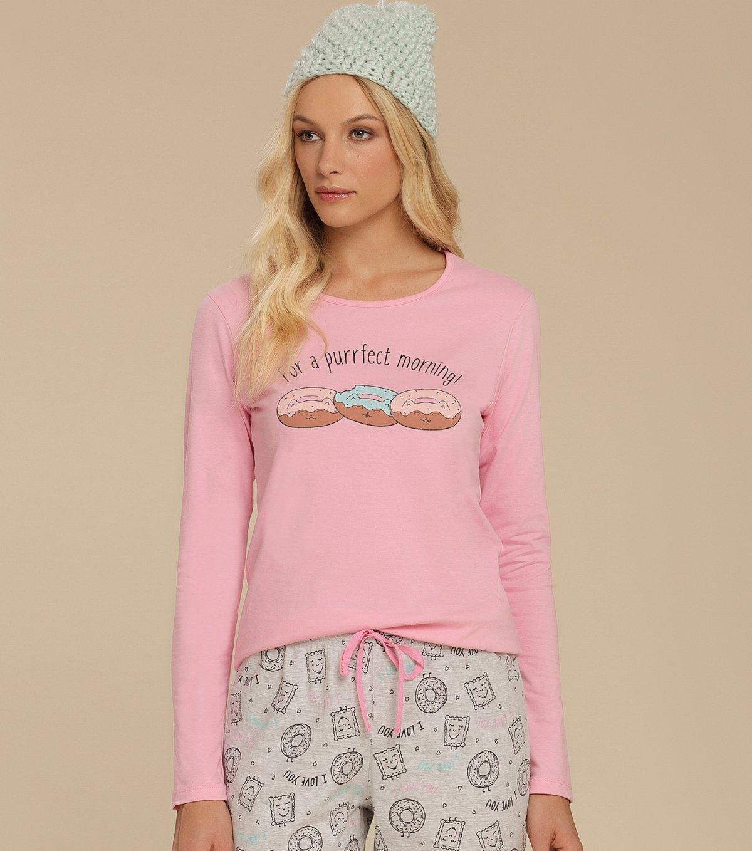 Pijama Manga Longa - 10670