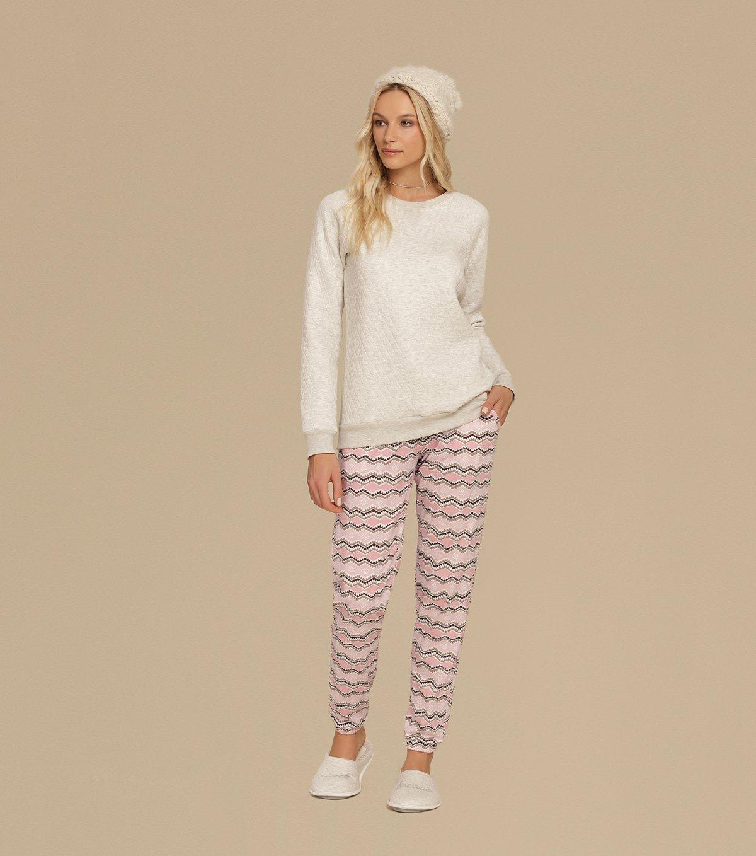 Pijama Manga Longa - 10623
