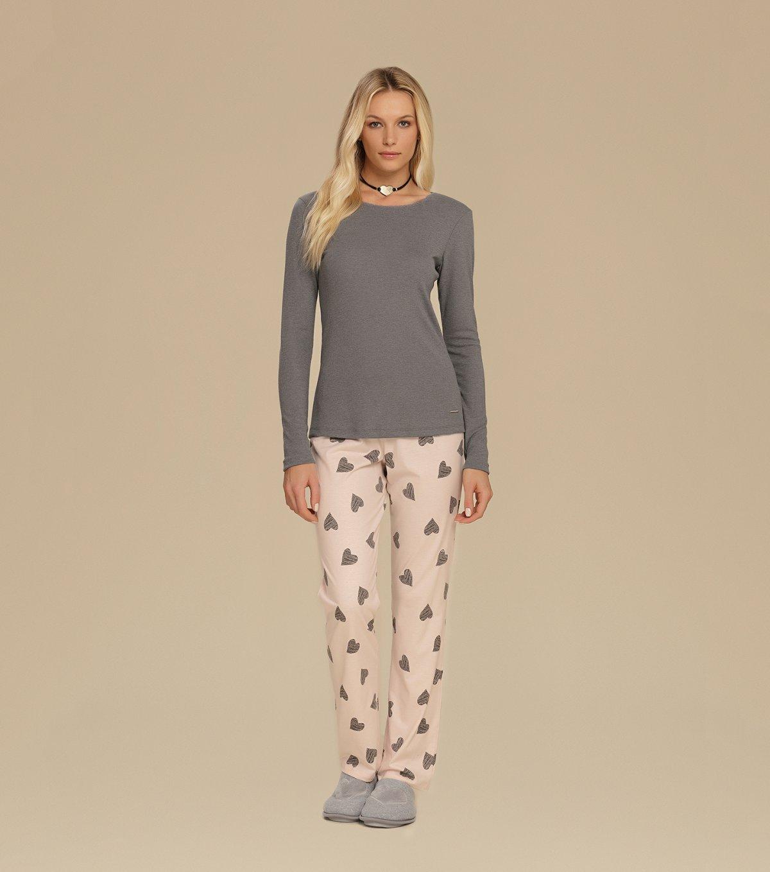 Pijama Manga Longa - 10642