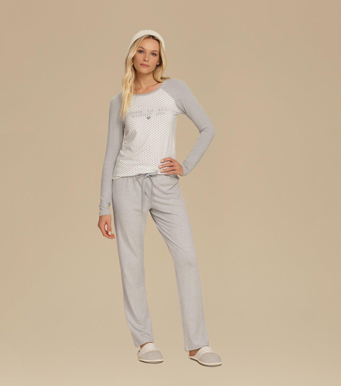 Pijama Manga Longa - 10571