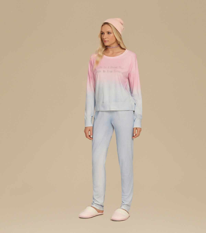 Pijama Manga Longa - 10669