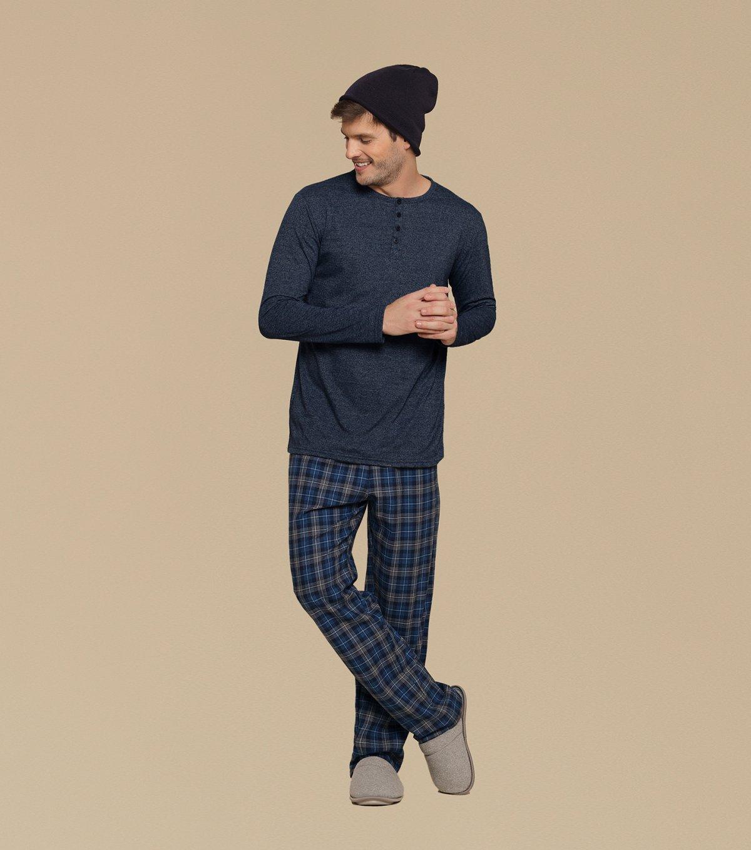 Pijama Manga Longa - 66276