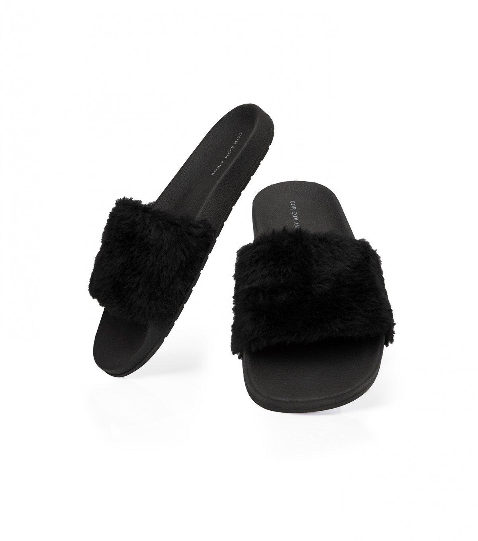 Chinelo slide de pelinho - 25068