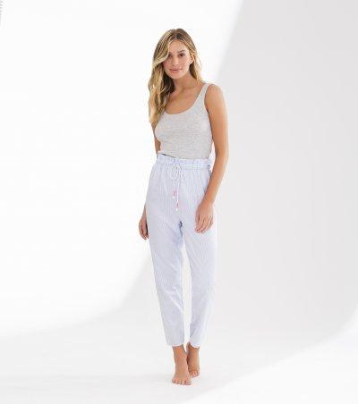 Pijama regata com alça cropped - 11035