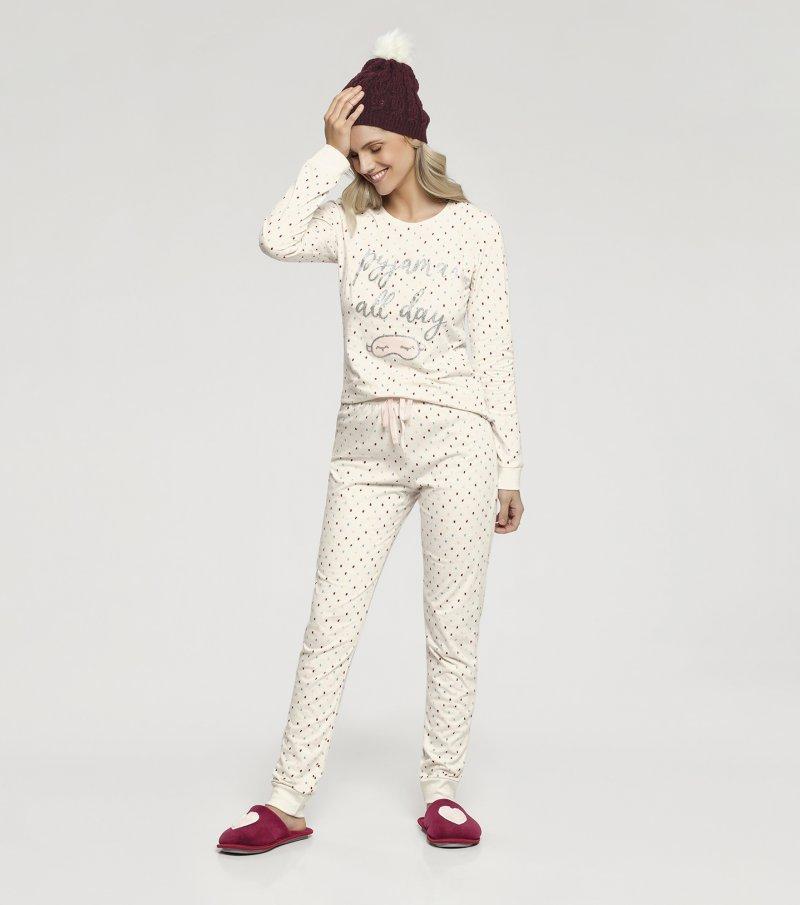 Pijama Manga Longa -  10916