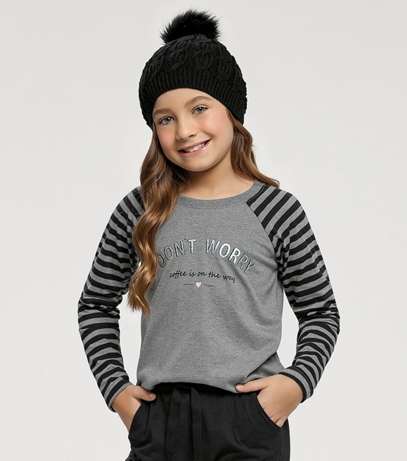 Pijama Manga Longa Infantil - 67416