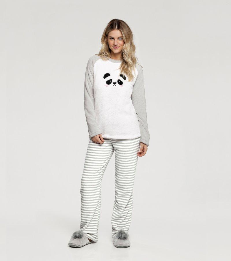 Pijama Manga Longa - 10844