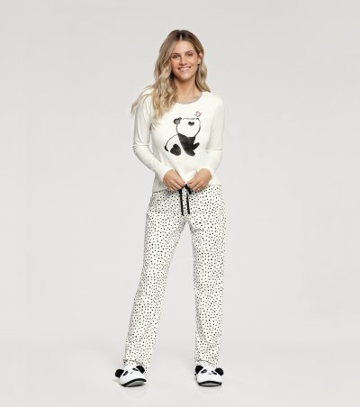 Pijama Manga Longa - 10849
