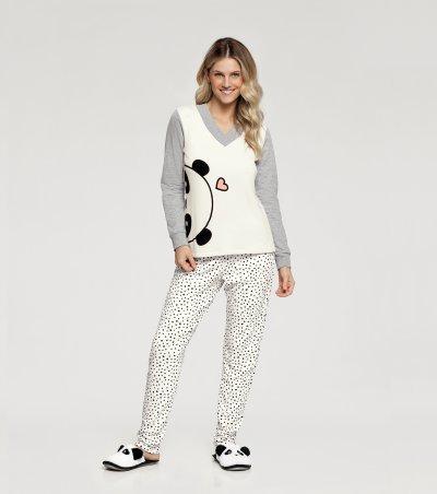 Pijama Manga Longa - 10850