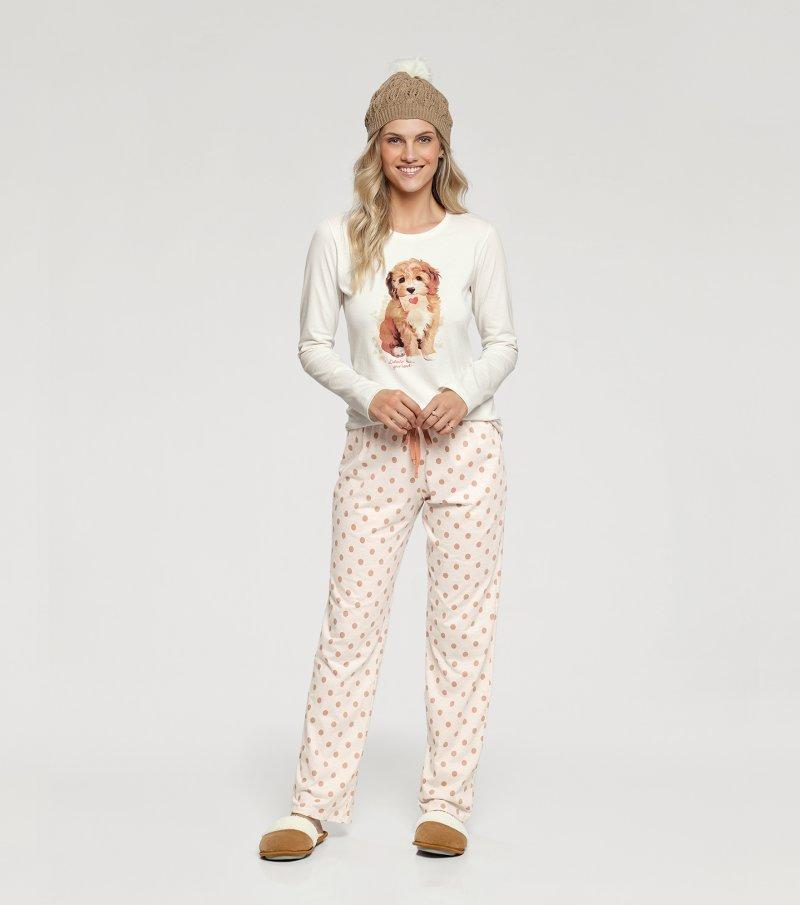 Pijama Manga Longa - 10940