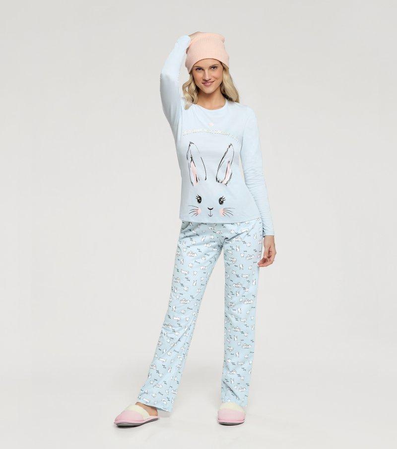 Pijama Manga Longa - 10935