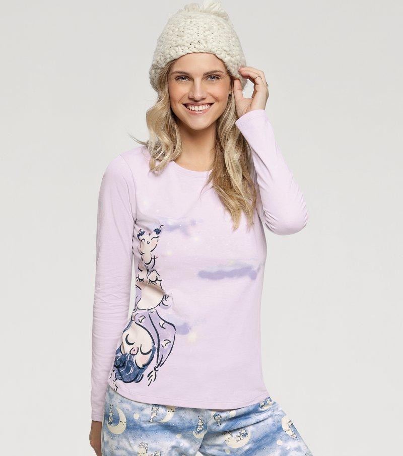 Pijama Manga Longa - 10895