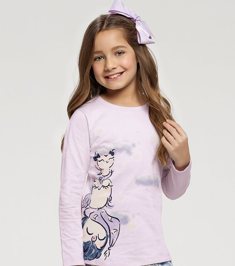 Pijama Manga Longa Infantil - 67408