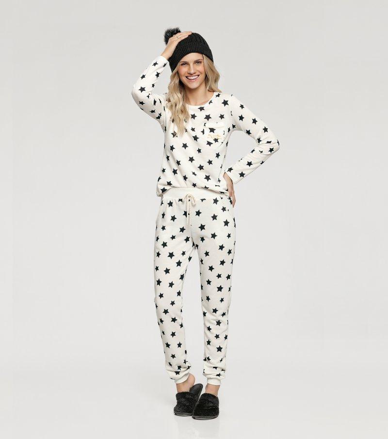 Pijama Manga Longa - 10835