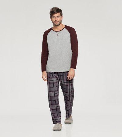 Pijama Manga Longa - 66343