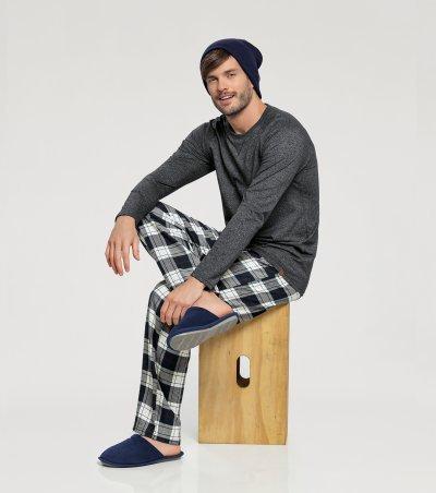Pijama Manga Longa - 66326