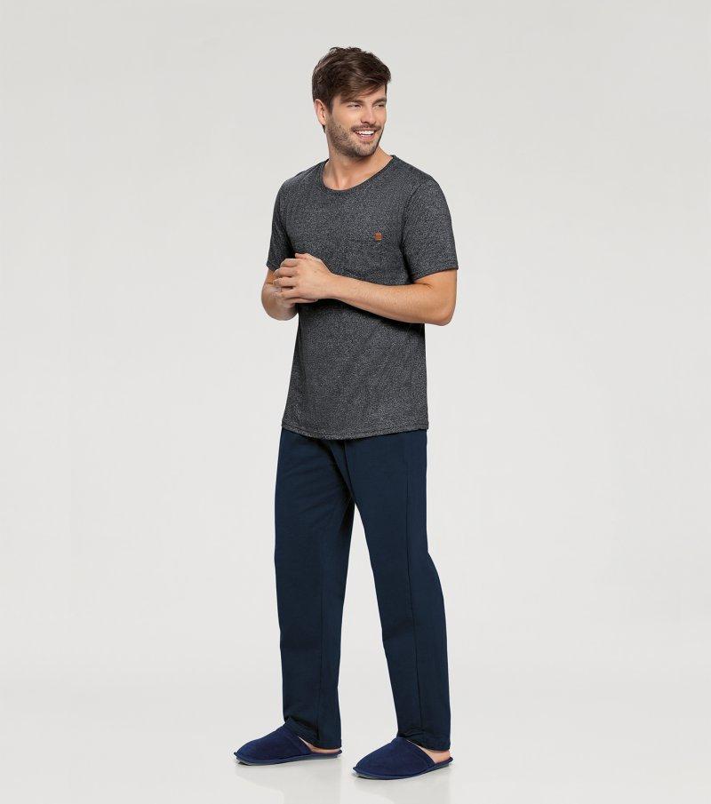 Pijama Manga Curta - 66333