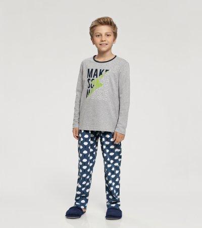 Pijama Manga Longa Infantil - 66324