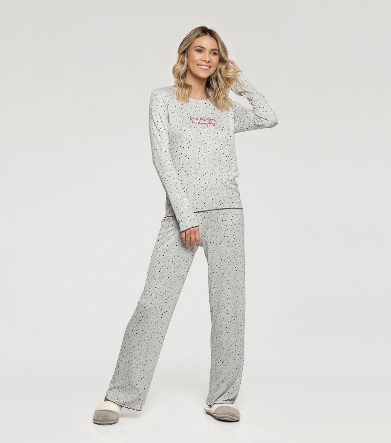 Pijama Manga Longa - 10946