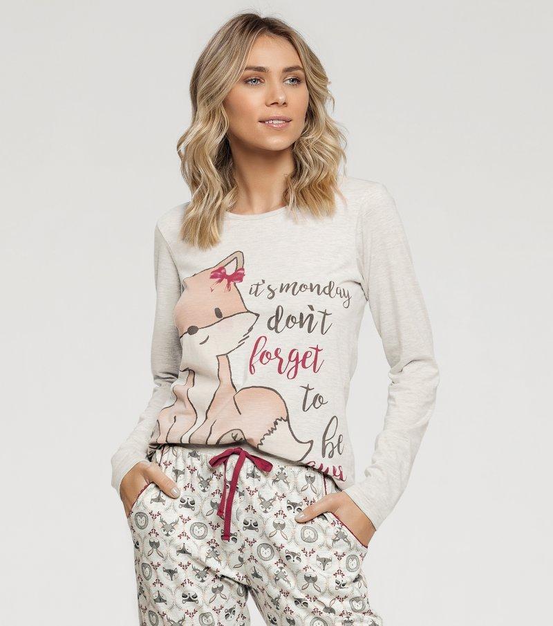 Pijama Manga Longa - 10860