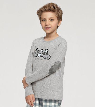 Pijama Manga Longa Infantil - 66320