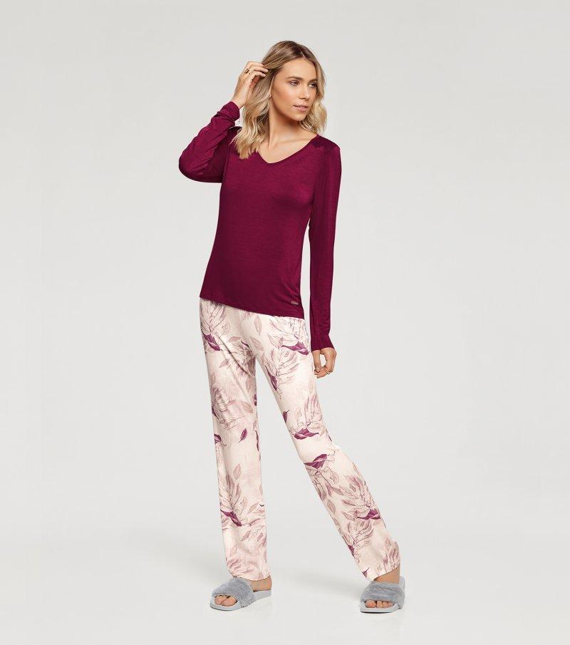 Pijama Manga Longa - 10905