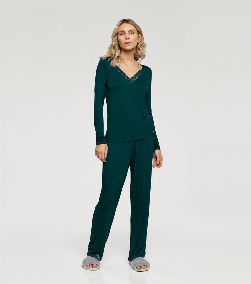 Pijama Manga Longa - 10959