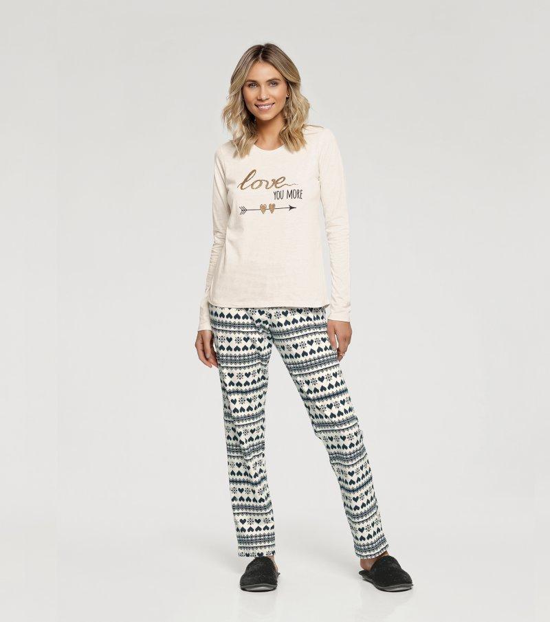 Pijama Manga Longa - 10931