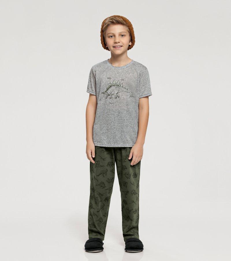 Pijama Manga Curta Infantil - 66347