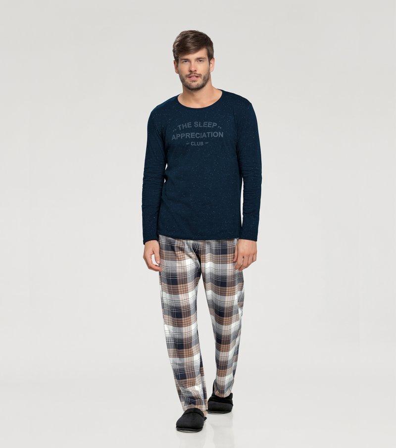 Pijama Manga Longa - 66328