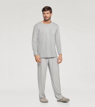 Pijama Manga Longa - 66330