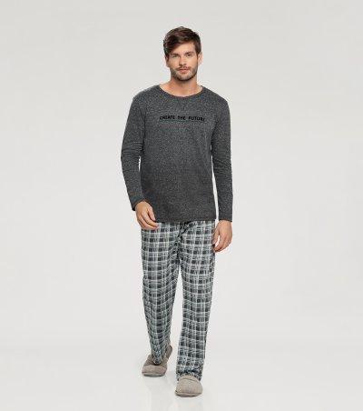 Pijama Manga Longa - 66336