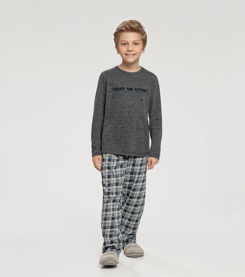 Pijama Manga Longa Infantil - 66337