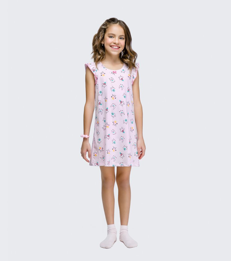 Camisola Manga Curta Infantil - 67430