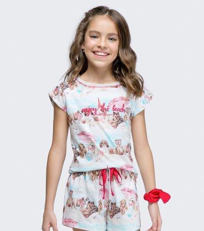 Short Doll Manga Curta Infantil - 67444