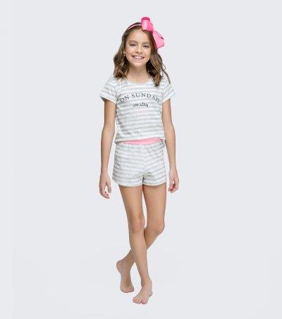 Short Doll Manga Curta Infantil - 67422
