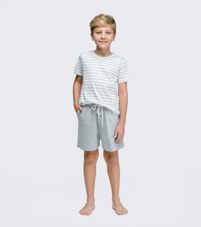 Pijama Manga Curta Infantil - 66349
