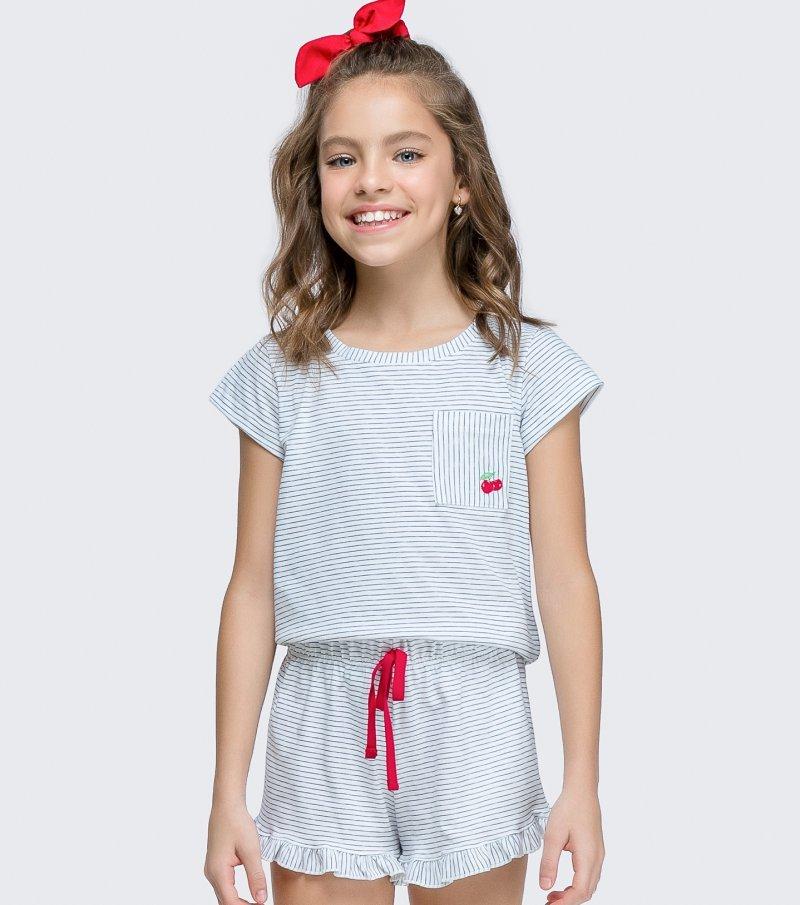 Short Doll Manga Curta Infantil - 67441