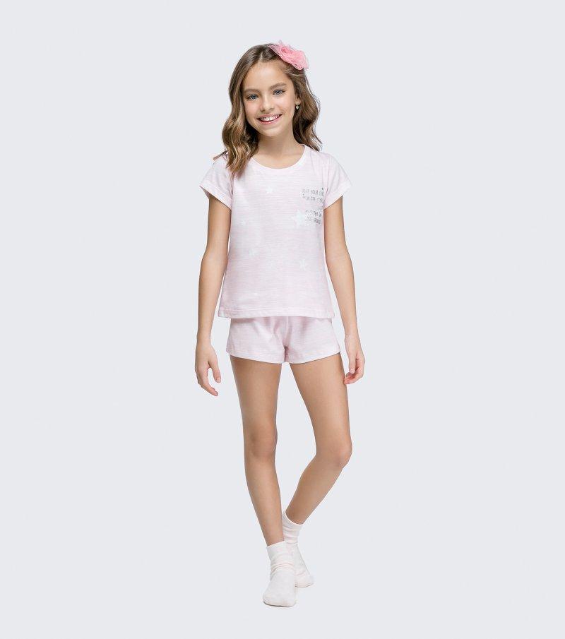 Short Doll Manga Curta Infantil - 67435