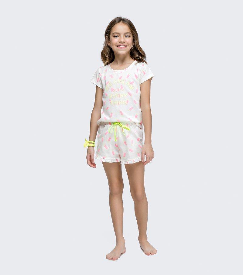 Short Doll Manga Curta Infantil - 67440
