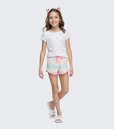 Short Doll Manga Curta Infantil - 67420