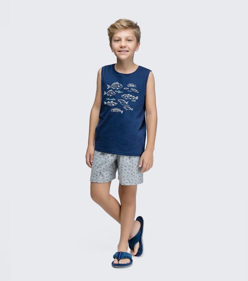 Pijama Regata Infantil - 66354