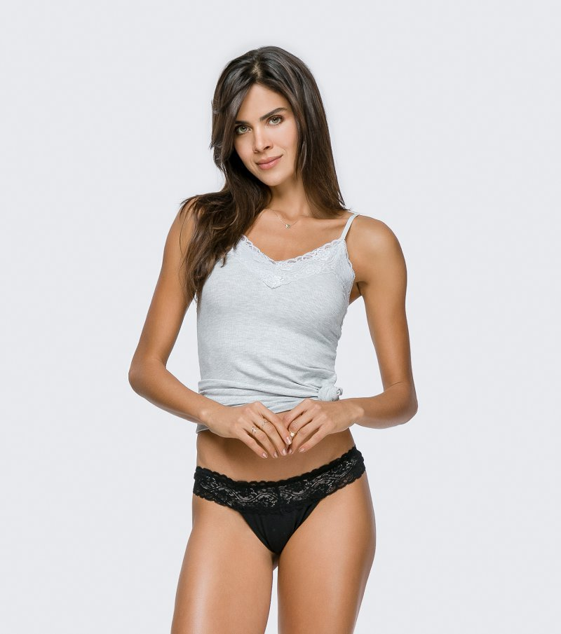 Kit com 2 Calcinhas Tanga - 50017-S20