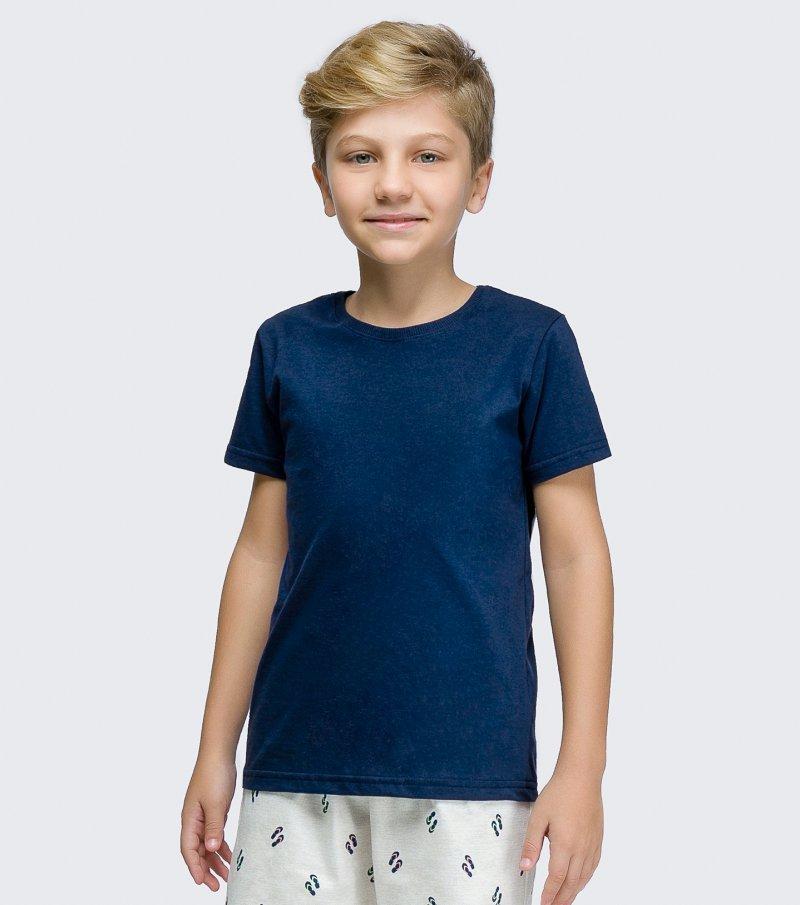 Pijama Manga Curta Infantil - 66355