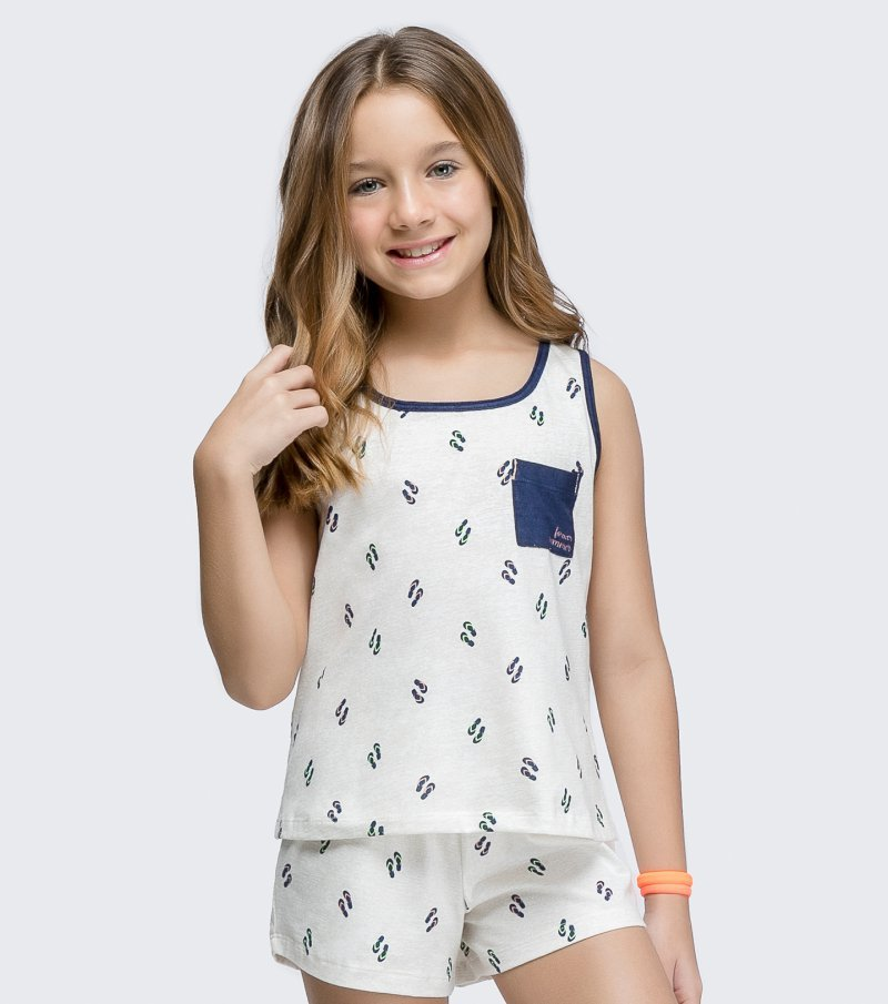 Short Doll Regata Infantil - 67431